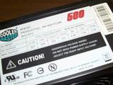 Cooler Master Rp 500 pcap 500W